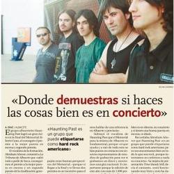 Entrevista en la Tribuna de Albacete II