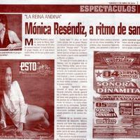 Mónica Reséndiz a Ritmo de Samba
