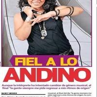 Monica Resendiz Fiel a lo Andino