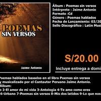 Lanzamiento del Album Poemas sin versos 2016